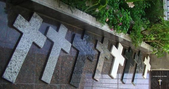 Cruz De Mármol (marmol Granito) Lcha - Distintos Tamaños