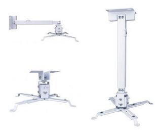 Soporte Techo Para Proyector Universal Extiende 65cm