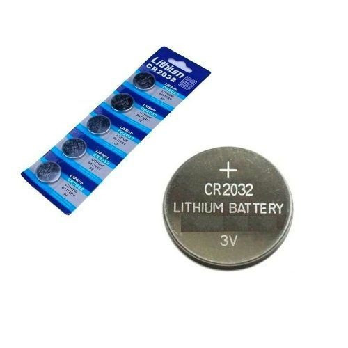 Bateria Cr 2032 3v Lithium Cartela Com 5 Placa