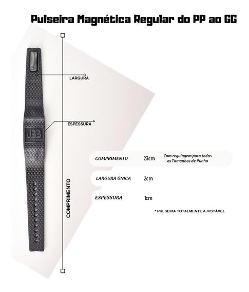 Pulseira Magnética Bioquantica Original 2 Infraverm + Brinde