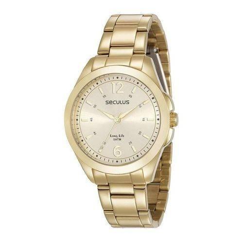 Relógio De Pulso Feminino Seculus Cód. 28871lpsvda1
