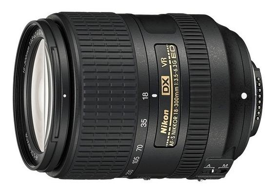 Lente Reflex Nikon Af-s Dx Nikkor 18-300mm F/3.5-6.3g Ed Vr