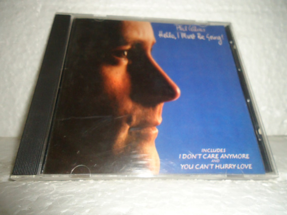 Cd Phill Collins - Hello I Must Be Going 1990 Br