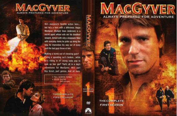 Dvd Box Macgyver ( 3 Temporadas Dubladas Digitais ) 17 Dvds