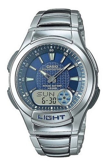 Relógio Casio Masculino Standard Aq-180wd-2avdf Original+nf