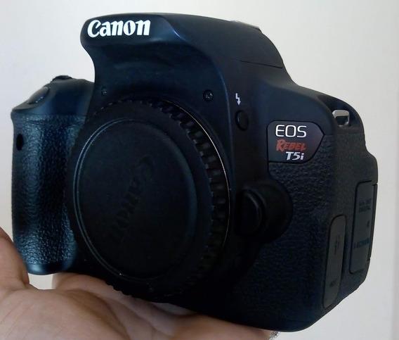 Canon T5i + Lente 50mm + Acessórios (usado)