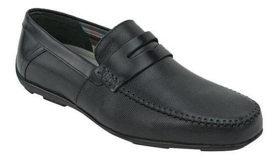 Zapato Mocasín Flexi Caballero Negro F68607