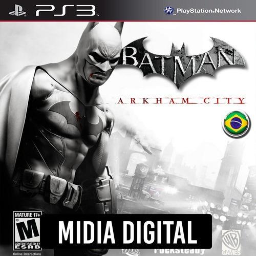Batman Arkham City - Ps3 Psn*