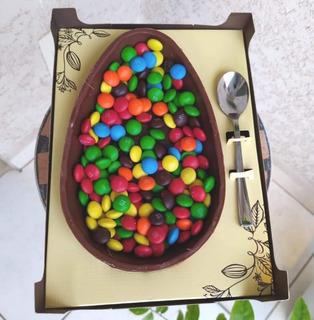 Ovo De Páscoa M&m, Nutella E Doce De Leite 700 G