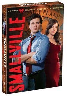Smallville 8ª Temporada - Box Com 6 Dvds - Tom Welling