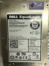 Hard Disk Dell Equallogic 300gb-sas 10k Pn/9fk066-157