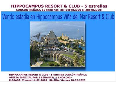 Hippocampus Resort & Club - 5 Estrellas 14 Al 28feb2020 2sem