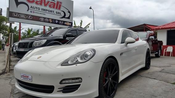 Porsche Panamera S Turbo V8 Blanco 2011