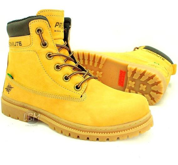 Bota Coturno Estilo Yellow Boots Marca Azimute Cano Médio !