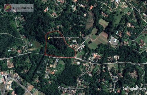 Área À Venda, 35000 M² Por R$ 350.000 - Embu Mirim - Itapecerica Da Serra/sp - Ar0022