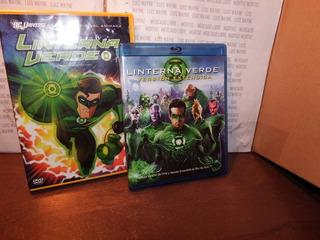 Pack 2 Películas Linterna Verde Dc Comics Version Extendida