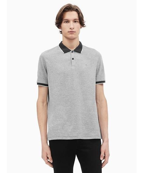 Camisa Polo Calvin Klein Hombre Original Ck Mk Moda