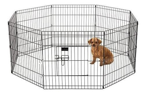 Corral Para Perro Mundocanino 122cm Altura X 8 Paneles 61cm
