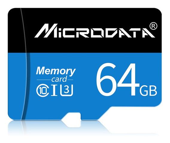 64gb Classe 10 Micro Sdxc Cartão De Memória Flash Com Adap