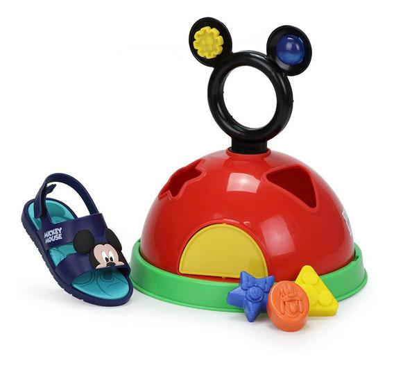 Sandália Infantil Grendene Mickey Diversão Baby