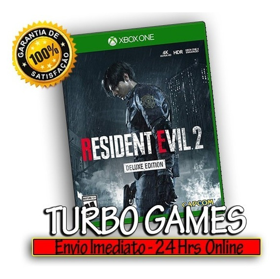 Resident Evil 2 Remake Deluxe Xbox One + Brinde