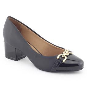 Sapato Feminino Salto Bloco 1258 111 - Vizzano