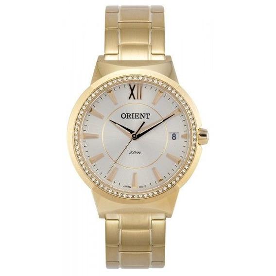 Relógio Orient Feminino Dourado Fgss1066 S3kx