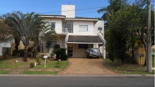 Casa Com 4 Dormitórios À Venda, 345 M² Por R$ 2.200.000,00 - Alphaville - Campinas/sp - Ca2237