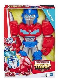 Muñeco Transformers Optimus Prime Rescue Bots Academy -