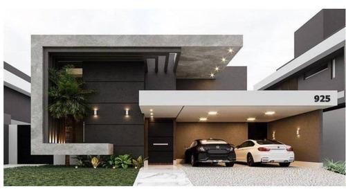 Casa Com 4 Dormitórios À Venda, 298 M² Por R$ 2.790.000,00 - Alphaville Nova Esplanada Iv - Votorantim/sp - Ca8466