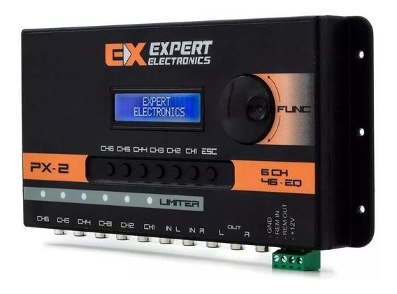 Crossover Digital Banda Processador Audio 6 Vias Expert Px2
