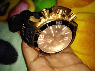 Reloj Invicta Original Oro Rosado 3 Pines