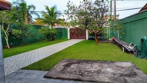Imagem 1 de 14 de Ótima Casa Com 200 Metros Do Mar Em Itanhaém - 5510 | A.c.m