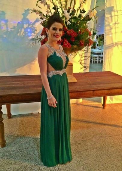 Vestido Longo Verde Patrícia Bonaldi