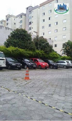 Apartamento  Residencial Para Locação, Vila Rio De Janeiro, Guarulhos. - Ap0141