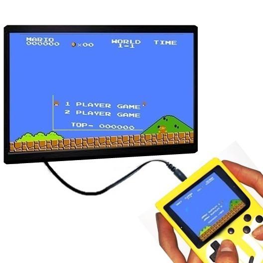 Vídeo Game Boy Sup Portátil Clássico 400 In 1 300 Jogos Ant.