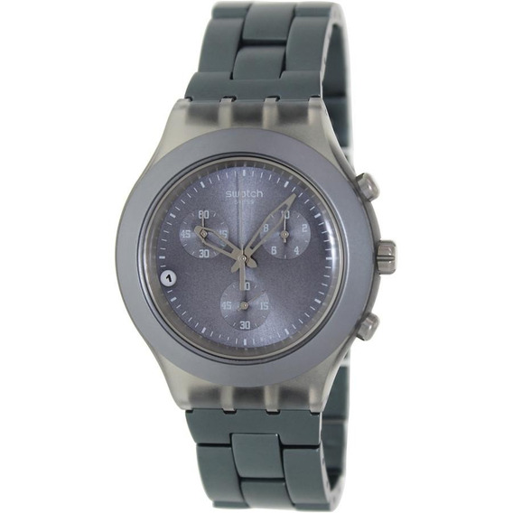 Relógio Swatch Full Blooded Smoky Grey Svcm4007ag