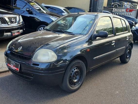 Renault Clio Rn 1.0 Preto 2003