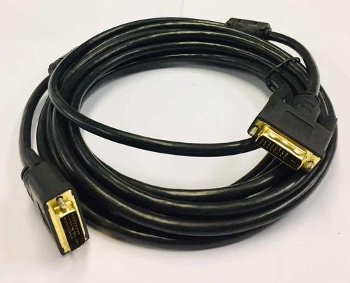 Cable Dvi A Dvi 24+1 Trautech De 5 Metros Señal Digital