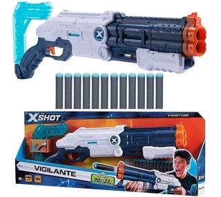 Pistola Rifle Escopeta Juguete Zombie Zuru X Shot Dardos