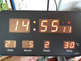 Relógio Digital De Cabeceira - 20cm Jh2011