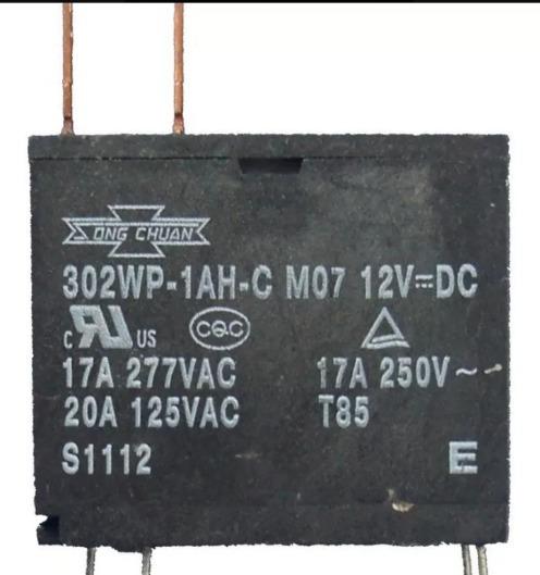 Rele Para Microondas 12v 17a 250v (novos)