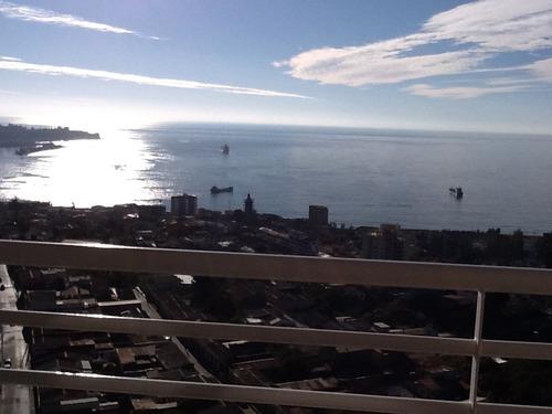 Imagen 1 de 17 de Valparaiso  Hermoso Depto Primera Linea Linda Vista