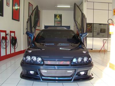 Chevrolet Monza Azul Tunning