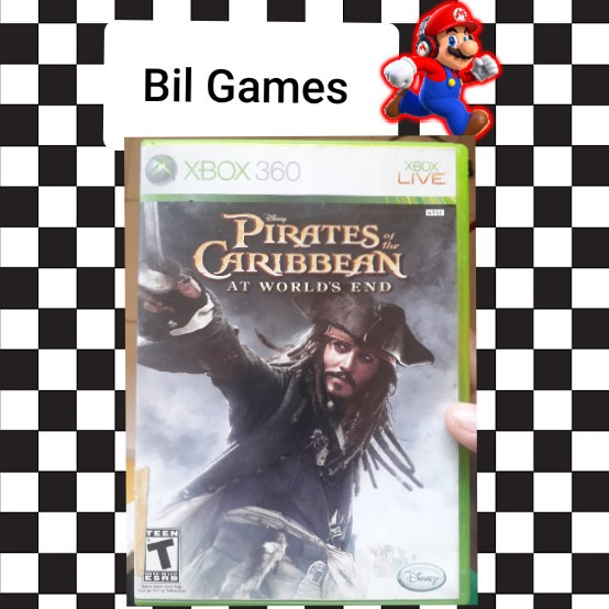 Jogo Piratas Do Caribe Fim Do Mundo Xbox 360 Original