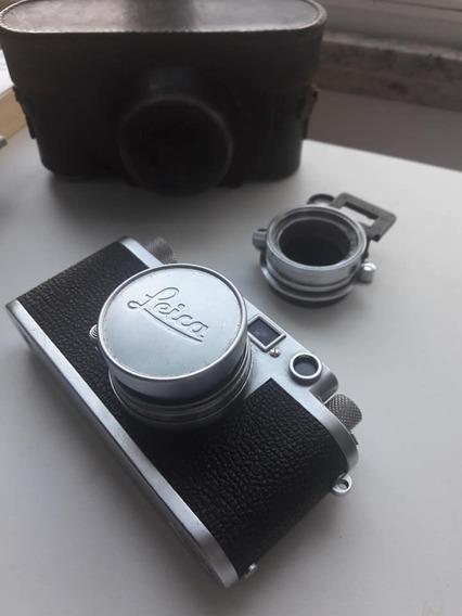 Câmera Leica Raríssima 1953 Iiif C/ Lente Summicron