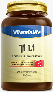 Ji Li Tribulus Terrestris 500mg - 60 Cápsulas - Vitamin Life