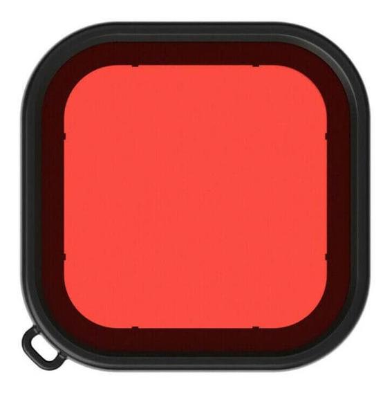 Filtro Mergulho Vermelho Caixa Estanque Gopro Hero 8 Black