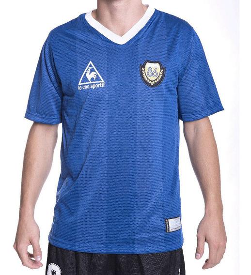 Remera Recambio Argentina 86 Aniv Azul Hombre Le Coq Sportif