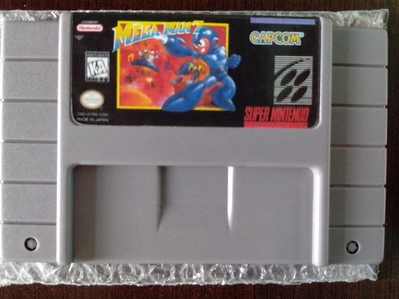 Megaman 7 Super Nintendo Paralelo Chipado Inglês